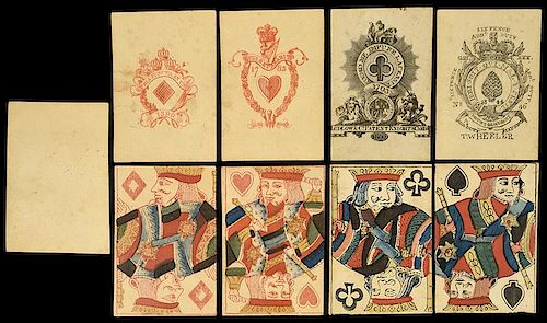 Ludlow & Co. Patent Knight's Cards & T. Wheeler Playing Cards.