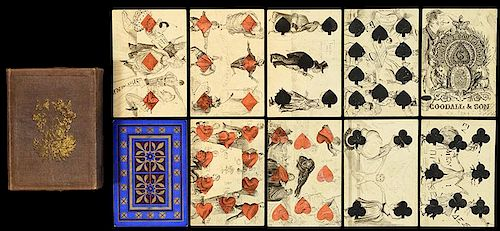 Goodall & Son Hand Drawn Transformation Playing Cards.