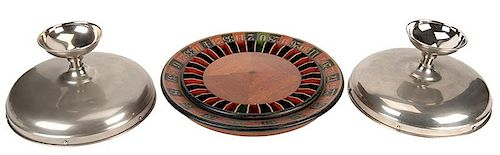 Gaffed Round Table Roulette.