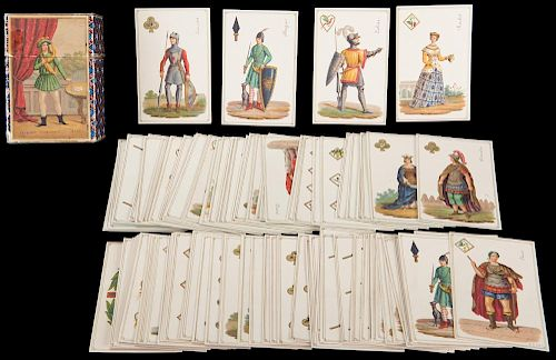 Jacquemin Gringonneur Playing Cards.