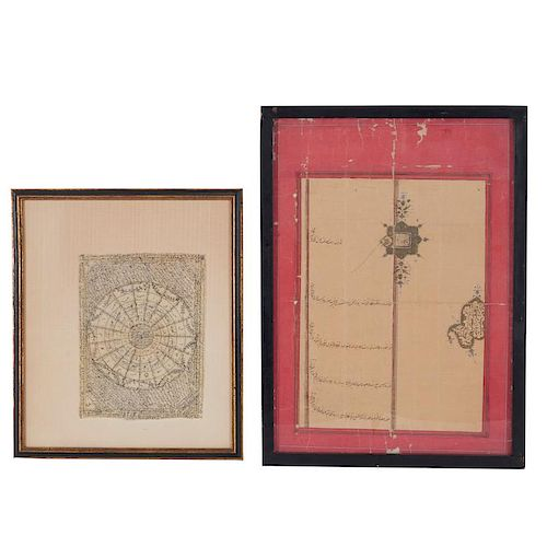 Group (2) early Islamic documents