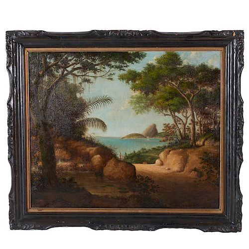 Attributed to Alfred de Gault, painting
