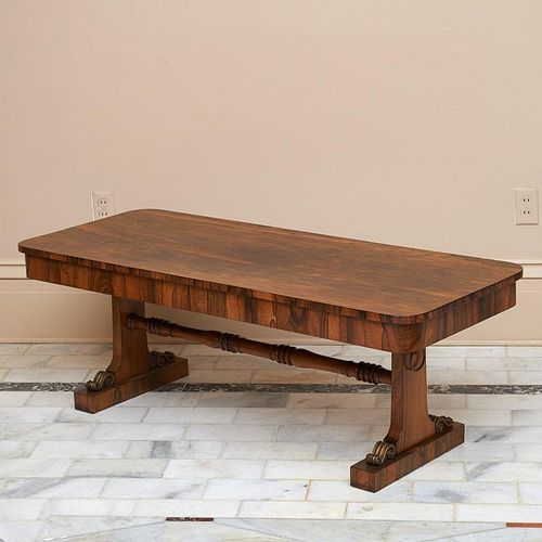 William IV bronze mounted coffee table