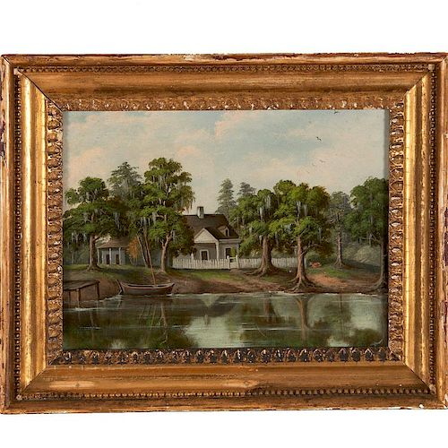 George David Coulon, painting