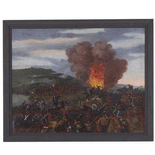 Edward Everard Arnold, large painting
