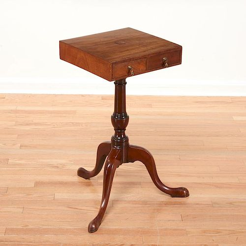 Chippendale tripod candle stand