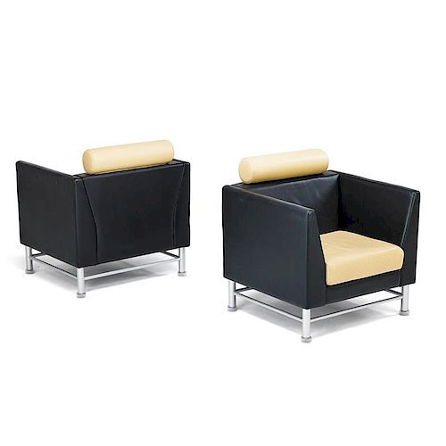 ETTORE SOTTSASS Pair of Eastside chairs