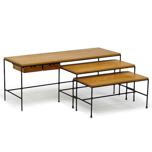 PAUL McCOBB Three nesting tables