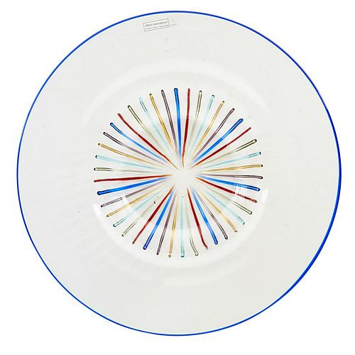 LINO TAGLIAPIETRA; EFFETRE Rare glass bowl