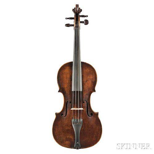 German Viola, Anton Zwerger, Mittenwald, 1791
