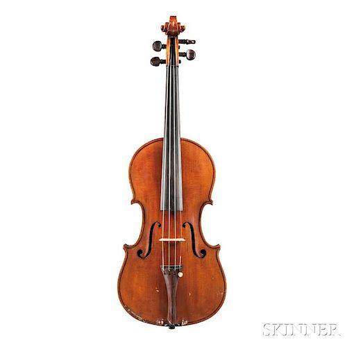 Italian Violin, Enrico Averna, Palermo, 1932, labeled ENRICUS AVERNA/FECIT/Annus 1932. Panormus, inscribed on the label Avern