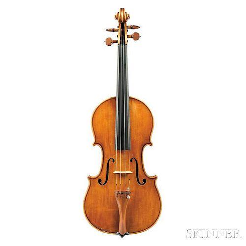 Italian Violin, Gio Batta Morassi, Cremona, 1972, labeled SCVOLA CREMONESE/Gio. Batta Morassi/Utinensis fecit/Cremonae Anno 1