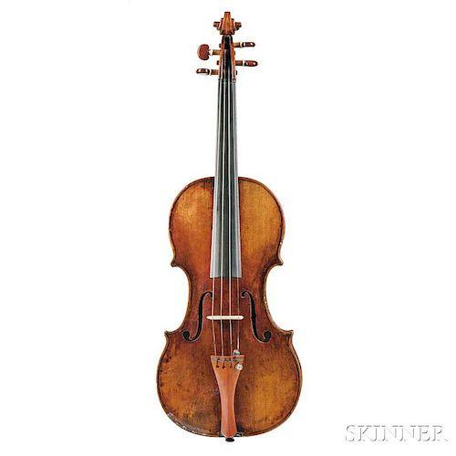Italian Violin, Matteo Goffriller, Venice, c. 1725, labeled Matteo Goffriller fecit/Venetijis anno 1725, bearing the catalog