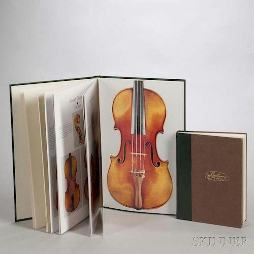 Two Books on French Violins, Millant, Roger, J.B. Vuillaume, and Les Trésors de la Lutherie Française du XIXe.