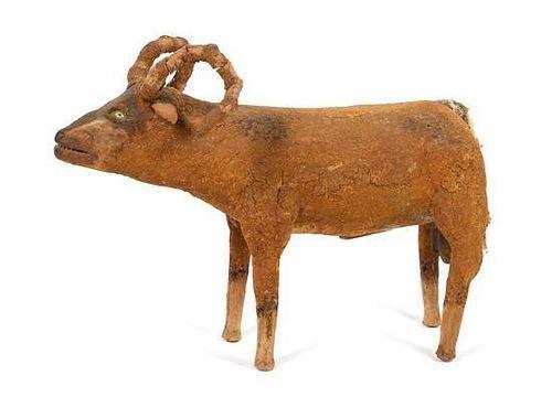 * Felipe Archuleta, (American, 1910-1991), Long Horn Sheep