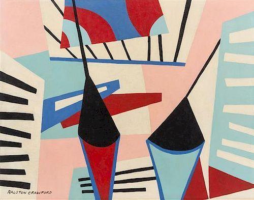 Ralston Crawford, (American, 1906-1978), Untitled