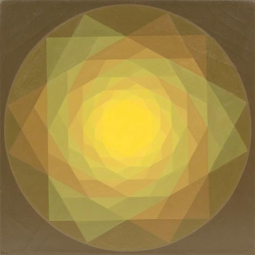 Hannes Beckmann, (German, 1909-1977), Spatial Spiral, 1972