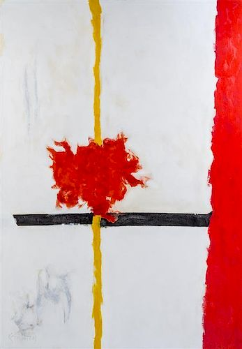 Theodoros Stamos, (American, 1922-1997), High Snow-Low Sun A, 1961