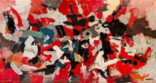 John Von Wicht, (American/German, 1888-1970), Untitled, 1961