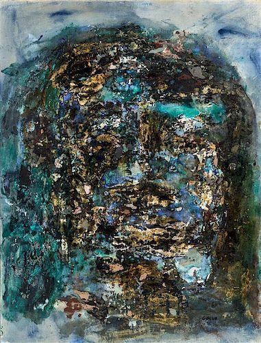 * Leon Golub, (American, 1922-2004), Head, c. 1959
