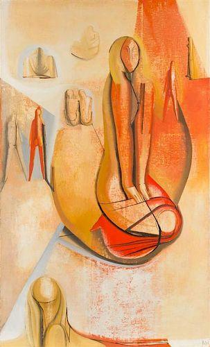 Joseph Mellor Hanson, (American, 1900-1963), Les Cyclades, 1961