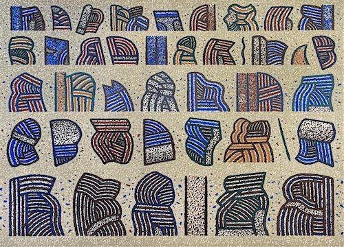 Ray Yoshida, (American, 1930-2009), Simple Complexities, 1975