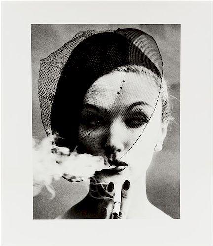 William Klein, (American, b. 1928), Smoke+Veil, 1958 (Vogue)