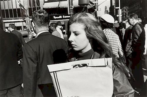 Garry Winogrand, (American, 1928-1984), Untitled, (from the Women are Beautiful series), c. 1970