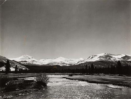 Ansel Adams, (American, 1902-1984), Tuolumne Meadows, 1941