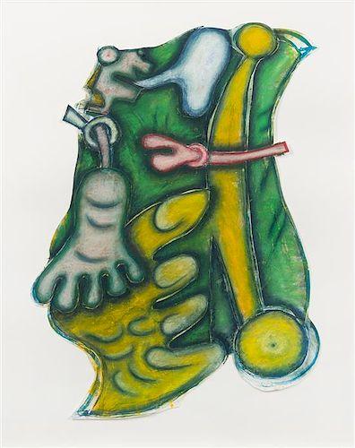 Elizabeth Murray, (American, 1940-2007), Whazzat #1, 1996