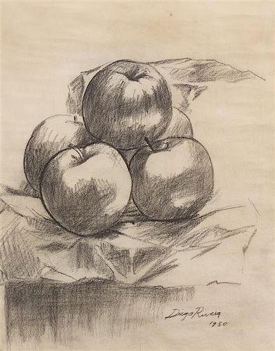 * Diego Rivera, (Mexican, 1886-1957), Naturaleza Muerta, 1950