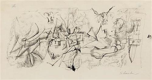 Louis Shanker, (American, 1902-1981), Emerging Forms