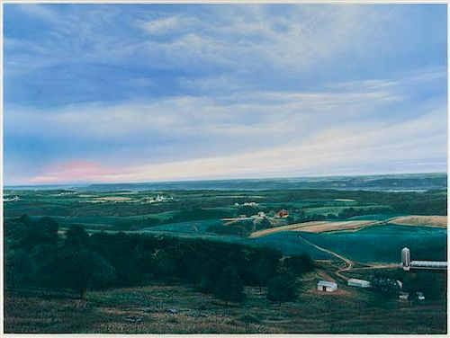 James Butler, (American, b. 1945), An Evening View from Ray-Mar, 1984