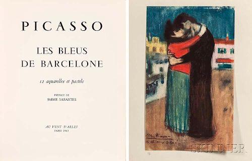 Pablo Picasso (Spanish, 1881-1973)      Eleven Plates   from Les bleus de Barcelone