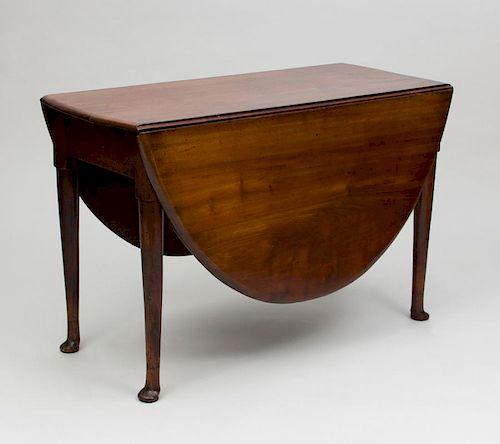 George II Mahogany Gate-Leg Table