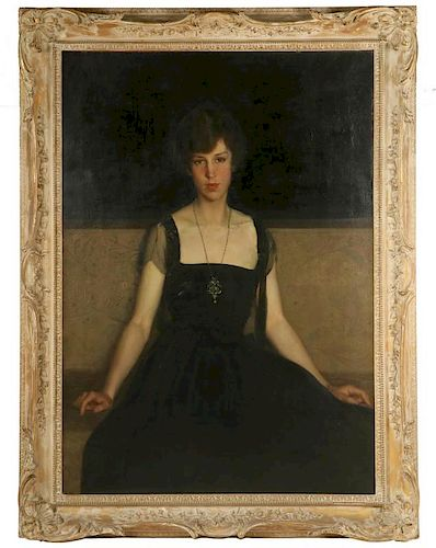 ATTRIBUTED TO CHARLES HAWTHORNE (MA/NY/IL, 1872-1930)