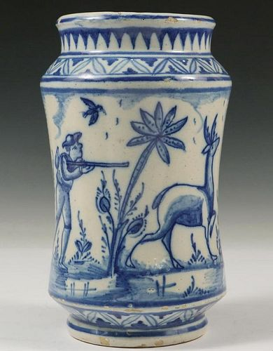 DELFT POTTERY JAR
