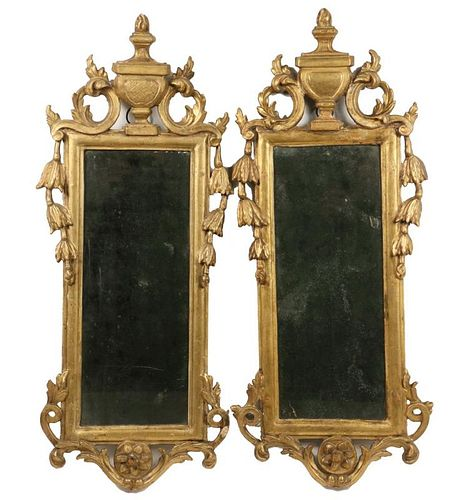 PAIR OF CONTINENTAL MIRRORS