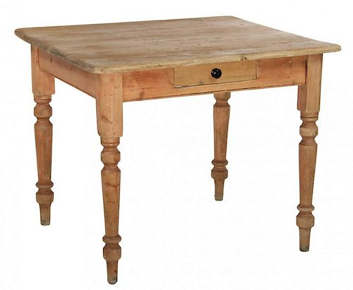 SCRUB PINE WORK TABLE
