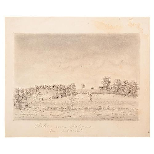 Robert Beverly Price, Original Drawings of the Missouri Territory, Some Featured in The First and Second Annual Reports of th