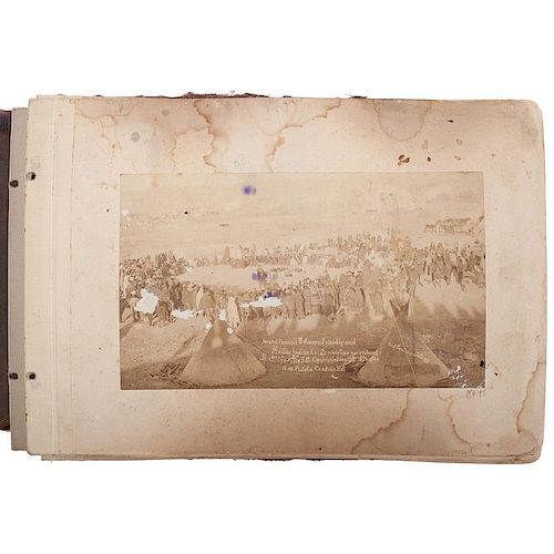 Wounded Knee Massacre & Pine Ridge Agency, Exceptional Photograph Album