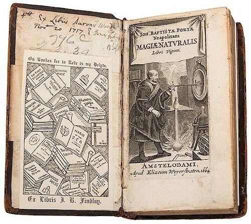 Porta, Giovanni Baptista della. Magiae naturalis libr vigniti.