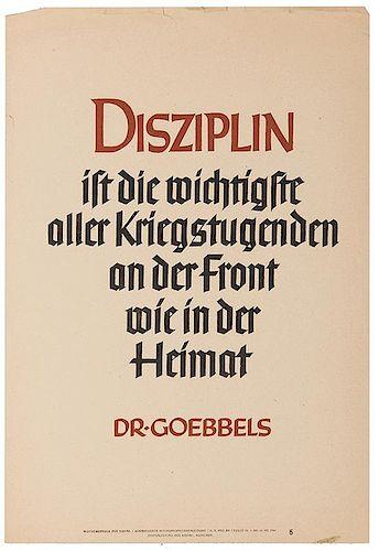 [WWII] Seven German Propaganda Posters.