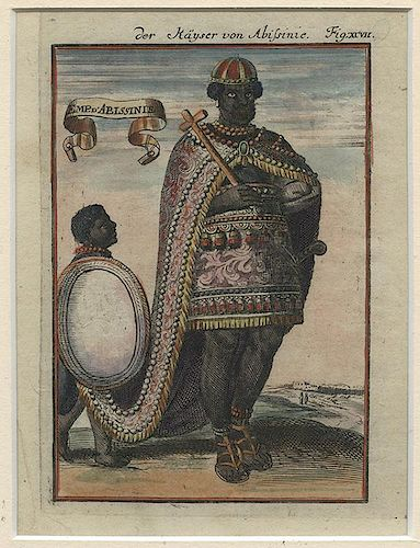 [Africa] A Lot of Over 150 Ethnographic Prints of African Peoples.
