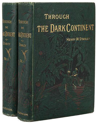 [Africa] Stanley, Henry. Through the Dark Continent.
