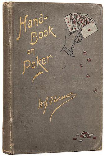 [Gambling] Florence, William James. Gentleman's Hand-Book on Poker.
