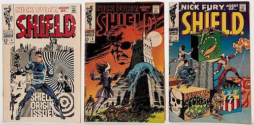 Nick Fury, Agent of S.H.I.E.L.D. / Strange Tales. Lot of 56 Comic Books.