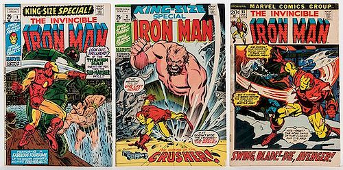 The Invincible Iron Man. Lot of 36 Comic Books.