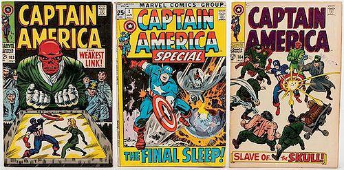 Captain America. Lot of 48 Comic Books.