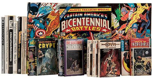 Lot of Over 25 Comic-Related Treasuries and Other Publications.